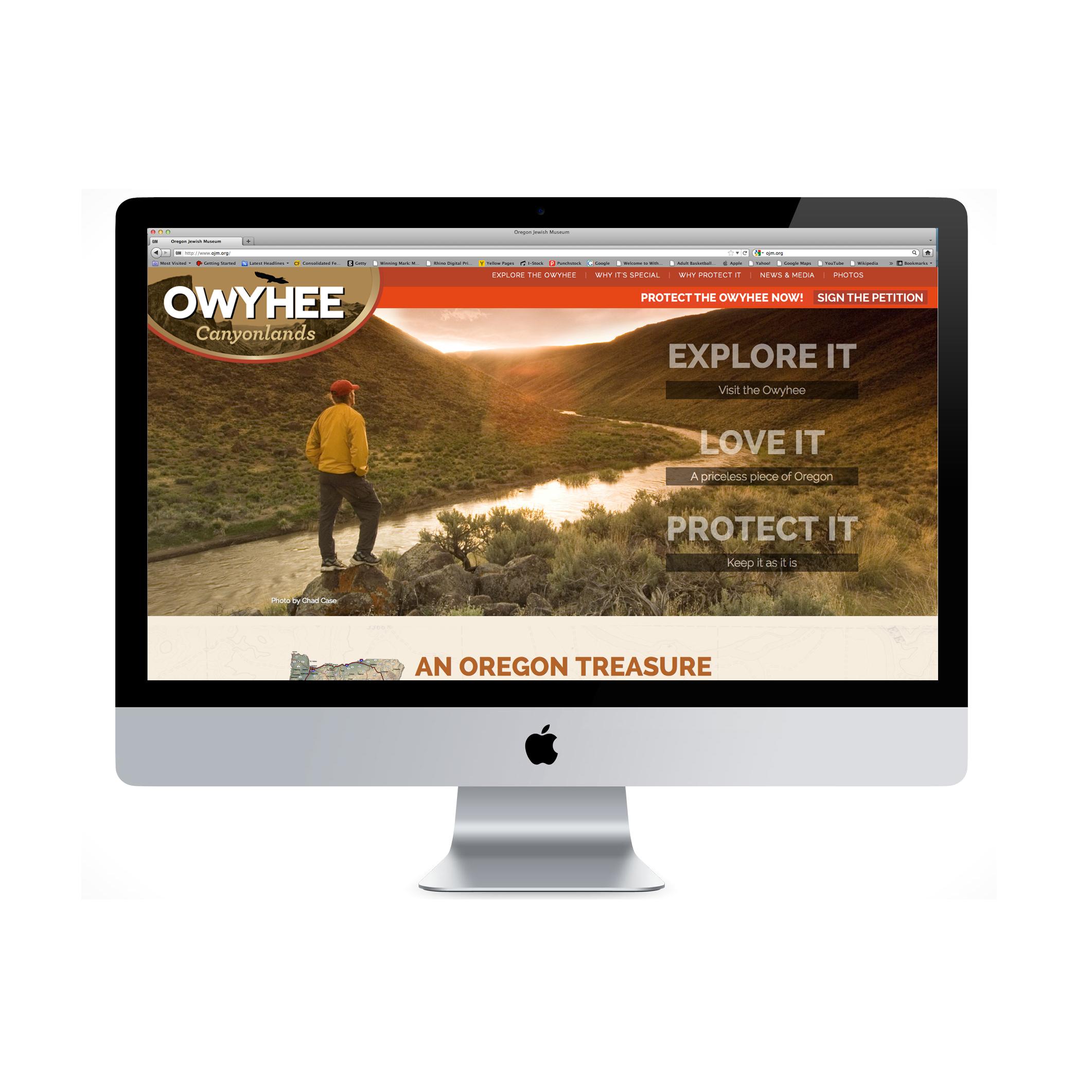 Owyhee website