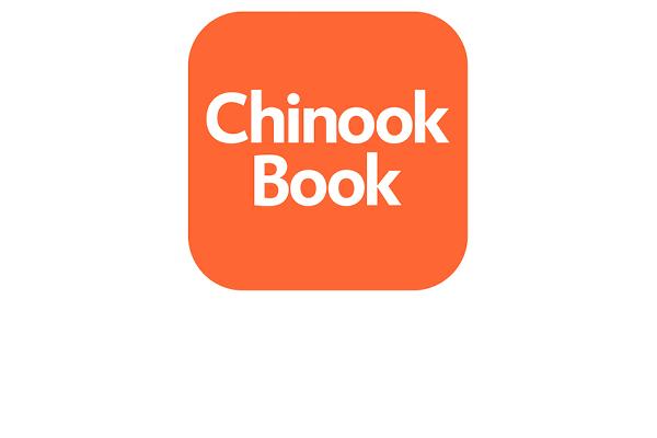 Chinook Book logo detail