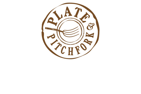 Plate & Pitchfork logo detail