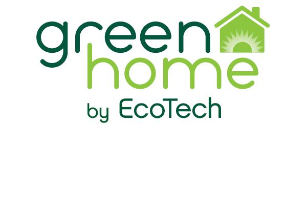 Green Home logo detail