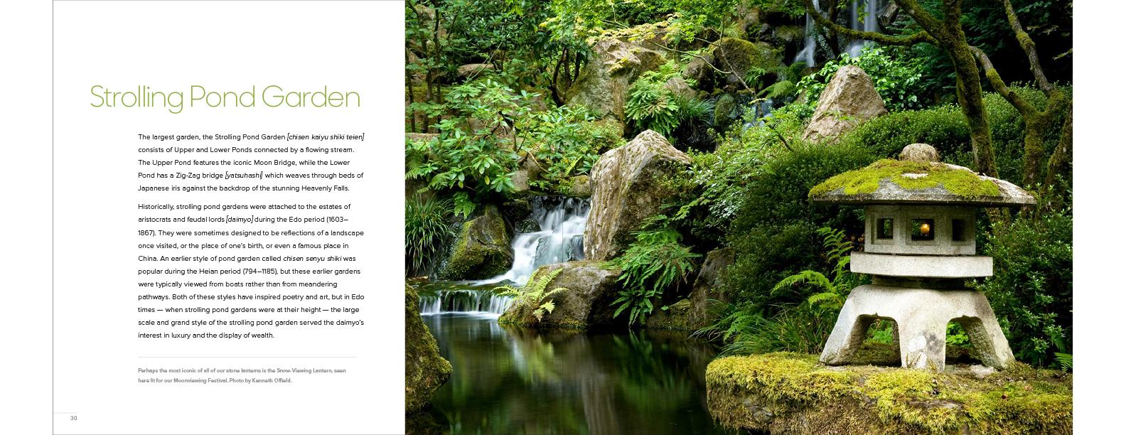 Japanese Garden spreads 12