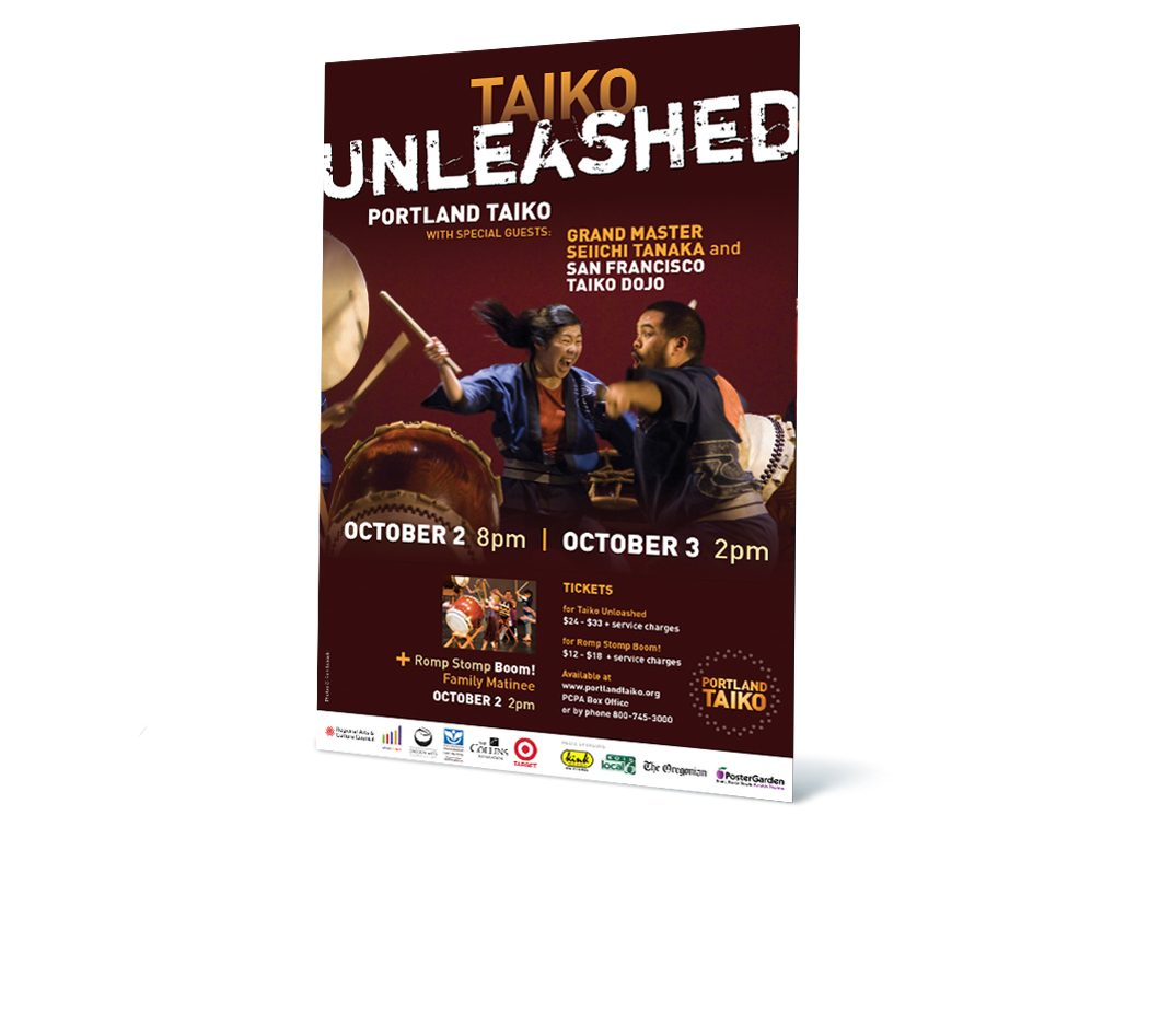 Taiko Unleashed poster